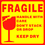 "Officeship ""FRAGILE, HANDLE WITH CARE"" Shipping Stickers"