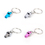 Aspire Mini Coach Whistle Key Ring 6PCS/PACK