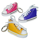 (Price/3 PCS) Aspire Canvas Sneaker Keychain, 3