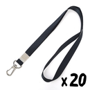 Officeship Lanyard with Swivel Snap Hook for ID Cards /Keys, 1/2