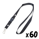 Officeship Detachable Lanyard with Swivel Snap Hook, 1/2
