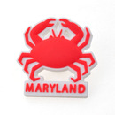 (Price/24PCS) ALICE Plastic Maryland Crab  State Lapel Pins, 1