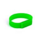 Officeship 2G Silicone USB Bracelet--Green