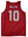 Custom Men's Tank Top, Reversible Mesh Tank, Basketball Jerseys, Lacrosse Jersey
