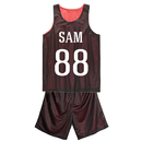 Custom Mesh Basketball Jersey and Shorts, For Adult - S-2XL