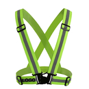 Custom GOGO Reflective Vest For High Visibility Running Cycling Safety Vest