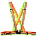Custom GOGO Cycling Safety Reflector Belt Night Riding Cycling Safety Vest