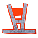 Blank GOGO Safety Vest With Reflective Stripes, Workwear Safety Belt