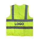 Custom GOGO Traffic Safety Vest With Reflective Tape, Gardener Reflective Vest