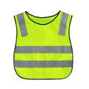 Blank GOGO Children Reflective Running Vest / Safety Vests With Elastic Waistband