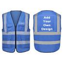 GOGO V Shape kids High Visibility Safety Vest, Fits over Outdoor Clothing, Bulk Sale