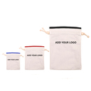 Aspire Custom Drawstring Canvas Favor Bag, Wedding Pouch / Jewelry bags - 3 Sizes