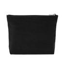 Aspire Canvas Makeup Pouch, Flat Bottom Zipper Bag for Cosmetics - 2 Sizes