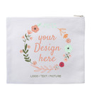 """Aspire Personalize Stationery Storage Canvas Pouch, 9 5/8"""" x 8"""" Multipurpose Pouch"""