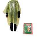 GOGO Custom Unisex Disposable Rain Ponchos, Adult Waterproof Poncho