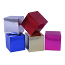 Aspire Glittered Cardboard Boxes for Christmas Gifts - Multi Sizes