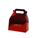 Aspire Personalized Sparkling Wedding Favor Boxes with Handles, Cardboard Boxes For Party Favors