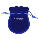 Aspire Custom Cucurbit Drawstring Gift Bags, 2 3/4 x 3 9/16 Inch Printable Cute Velvet Pouches
