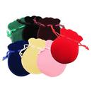 Aspire Cucurbit Drawstring Gift Bags, 2 3/4 x 3 9/16 Inch Cute Velvet Pouches