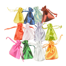 Aspire Satin Gift Pouches, 3 9/16 x 4 3/4 Inch, Multi-color Drawstring Aromatherapy Bag