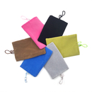 Aspire Cellphone Velvet Pouch, Double-layer Cell Phone Bag - 3 Sizes
