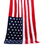 Beach Towel, American Canadian British Flag Pattern Bath Pool Sauna Towel