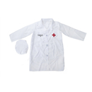Custom Kid's Lab Coat with Cap, For Kid Scientists or Doctors