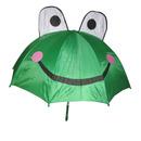 Custom Frog Animal Umbrella, Self-Automatic Open