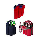 Aspire Wholesale Wine Tote Bags Neoprene Beer Holders Insulated Bottle Storage 3 / 4 / 6 Pockets