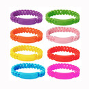 GOGO Blank Silicone Link Bracelet 13 MM / 19 MM Unisex Sports Wristbands Party Accessories Gift Idea