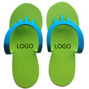 Aspire Promotional Eva Flip Flops Disposable Folding Foam Nail Spa Slippers Pedicure Flip-flop