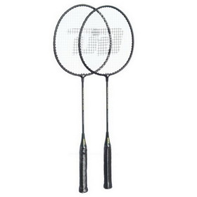 DHS Badminton Racket #209, Badminton Rackets, 2 Rackets/Set - Green