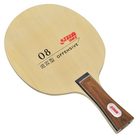 DHS N08L Table Tennis Blade - Long Handle (Shakehand)