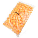 GOGO 1 Bag (144 balls) 3 Star 40mm Blank Table Tennis Balls, Ping Pong Balls, Price for 1 Gross, Excellent For Custom Printing