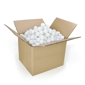 GOGO 10 Bags (10 X 144 balls) 40mm Beer Pong Balls, Ping Pong Balls, Price for 10 Gross, Excellent For Custom Printing, Price/10 Bag