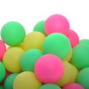 GOGO Beer Pongs / Tabel Tennis Balls, Assorted Colors Bright Color 600 PCS