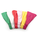 Alice Solid Color Pre Tie Headbands, Elastic Headband Wrap Hat (6 Pieces)