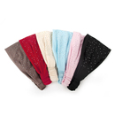 Alice Women's Cotton Headbands, Fashion Sparkling Rhinestone Hair band (6 PCS)
