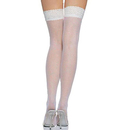 Muka Women's Nylon Lace Top Thigh High