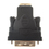 CablesToBuy DVI-D Dual Link 24+1 Female to HDMI Male Gold Adapter