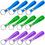 GOGO Silicone Keychain, Wristband Keyring, Rubber Key Chain