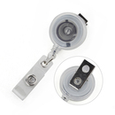 GOGO Round Swivel Spring Clip ID Card Retracting Reels