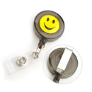 GOGO Premium Quality Smile Face ID Holder Reels With Key-ID-Badge-Belt Clip