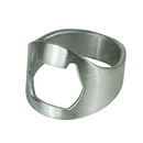 Ring Bottle Opener, Stainless Steel
