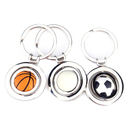 Aspire Sports Ball Keychain Football Basketball Golfball Rotating Keyring Charm Making