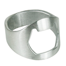 Aspire Stainless Steel Beer Ring Bottle Opener Finger Ring Bottle Opener Beer Bar Tool Bulk Sale