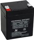Alpha Communications 12Vdc Recharg. Battery-4.0 A/H