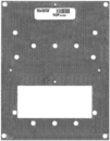 Alpha Communications IH103 Galvanized Steel Mounting Plate