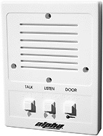 Alpha Communications 5/4/3 Wire Intercom Stat-Plast