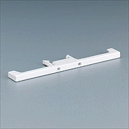 Alpha Communications Rep Module Locking Strip-White